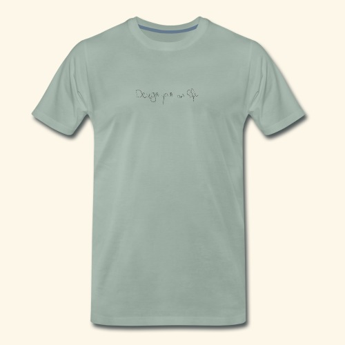 designYourOwnLife - Mannen Premium T-shirt