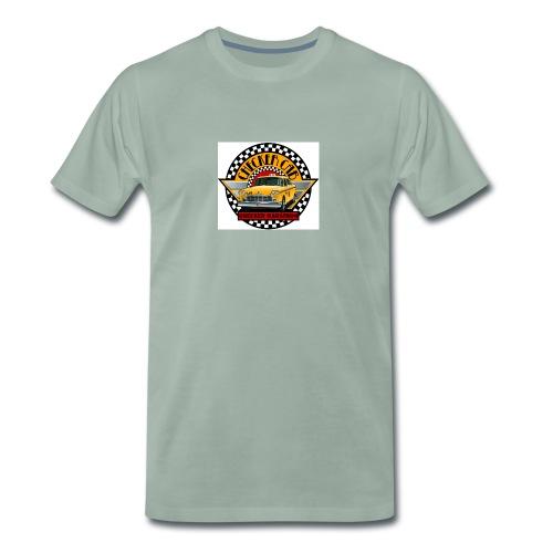 checker logo maraton - Premium-T-shirt herr