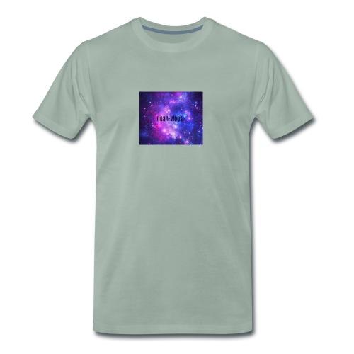 noah-vlogs hettegenser - Premium T-skjorte for menn
