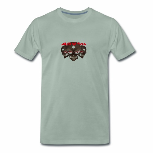 Three Skulled Adv4u - Männer Premium T-Shirt
