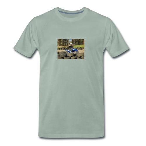 the new ashdab21 logo - Men's Premium T-Shirt