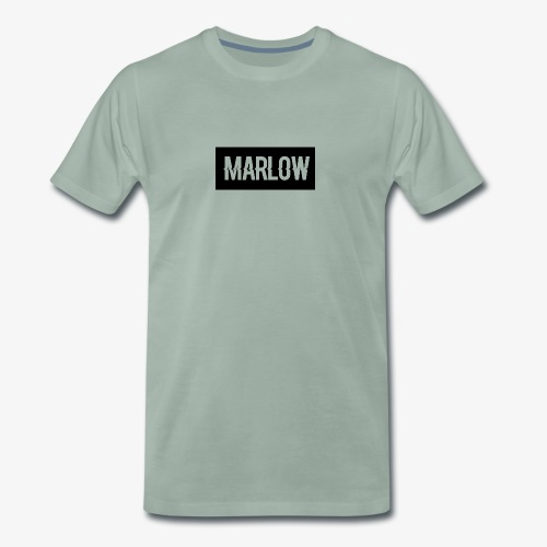 MARLOW Box Logo - Men's Premium T-Shirt
