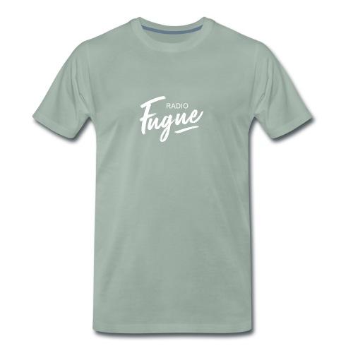 Radio Fugue Blanc - T-shirt Premium Homme