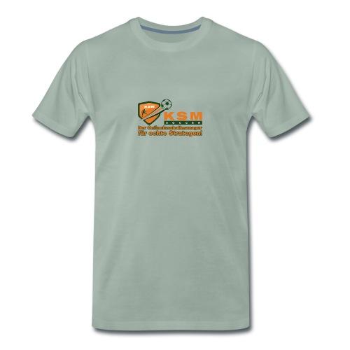 KSM-Soccer Logo groß - Männer Premium T-Shirt