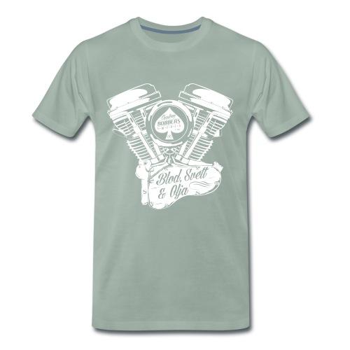 CBS Motor - Premium-T-shirt herr