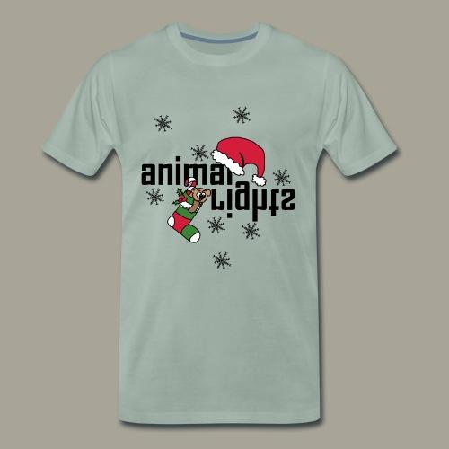 animal rights Tierrechte xmas Geschenk Idee - Männer Premium T-Shirt