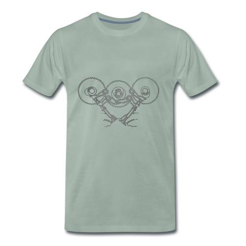 desmomech - Maglietta Premium da uomo