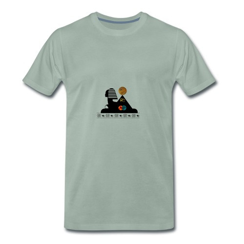 Sphynx Bitcoin - T-shirt Premium Homme