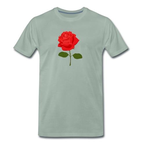Red Rose - Mannen Premium T-shirt