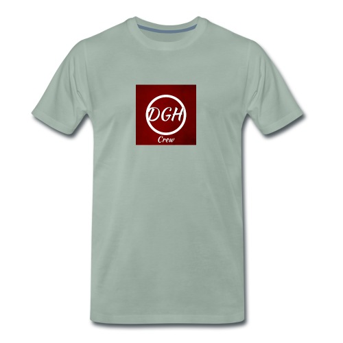 DGH rood - Mannen Premium T-shirt