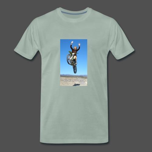 Stuntvrouw - Mannen Premium T-shirt