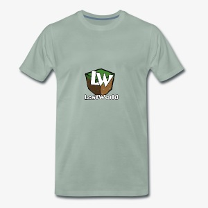 Logo LastWorld Transparent - T-shirt Premium Homme