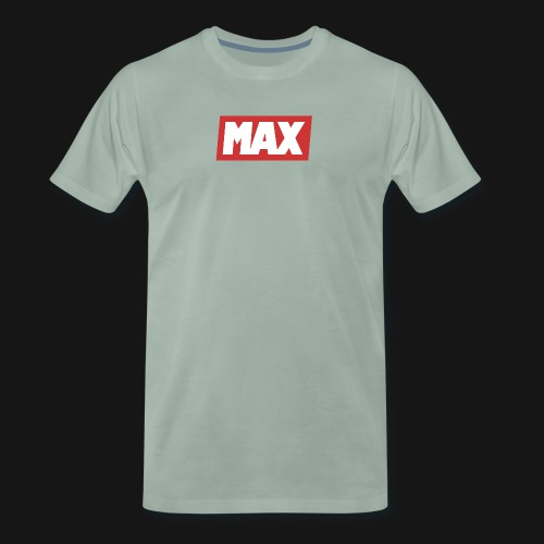 Max Red/white - T-shirt Premium Homme