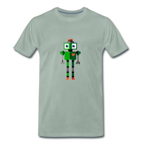 Green Robot - Men's Premium T-Shirt
