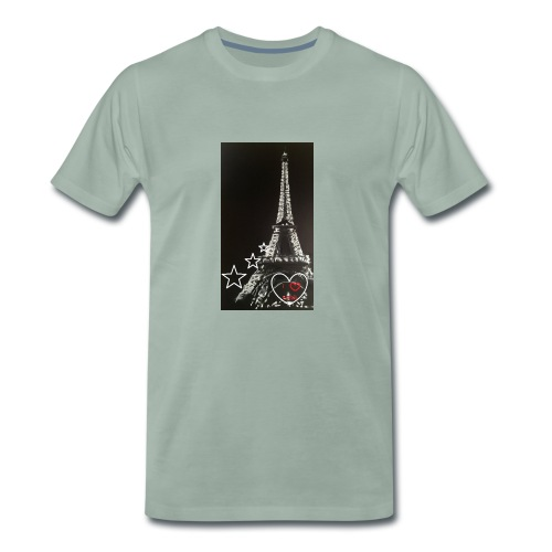 Tour eiffel - T-shirt Premium Homme