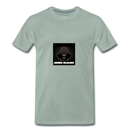 Alpha Annex Gaming logo - Men's Premium T-Shirt