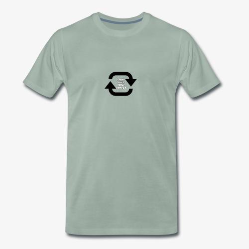 Drive fuel drive repeat - Men's Premium T-Shirt