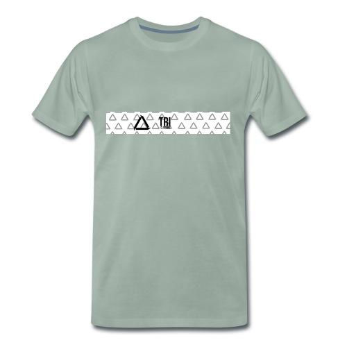 Tri Clothing Long Logo - Premium T-skjorte for menn
