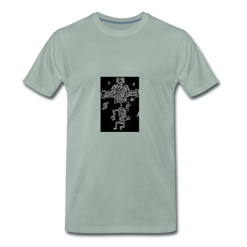 The Dancing Maya - Men's Premium T-Shirt