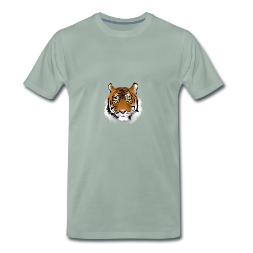 Tigre représentant la force - T-shirt Premium Homme