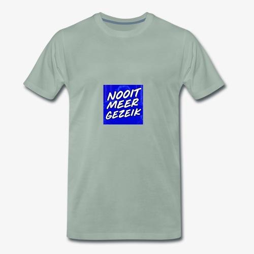 De 'Nooit Meer Gezeik' Merchandise - Mannen Premium T-shirt