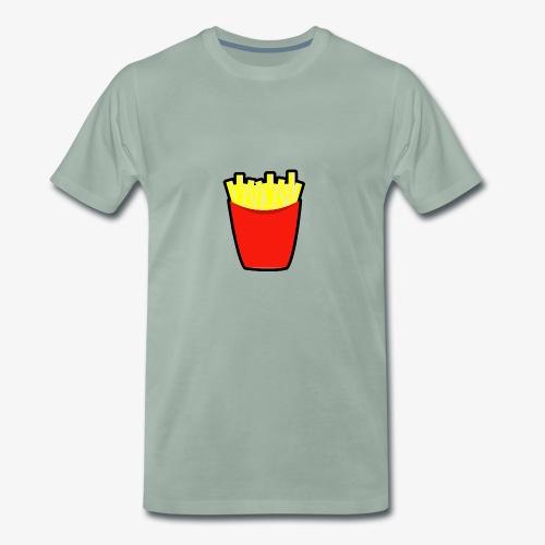 Pommes design - Männer Premium T-Shirt