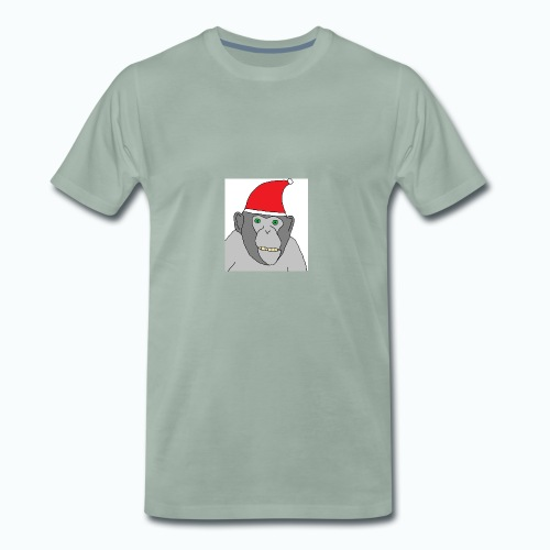 Christmas Chimp - Männer Premium T-Shirt