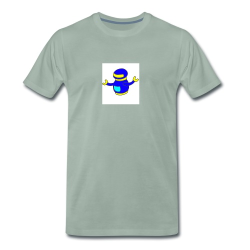 bluerobo1 - Men's Premium T-Shirt