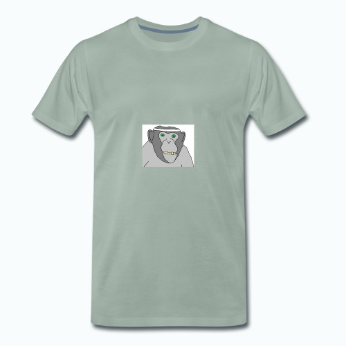 Sporty Chimp - Männer Premium T-Shirt
