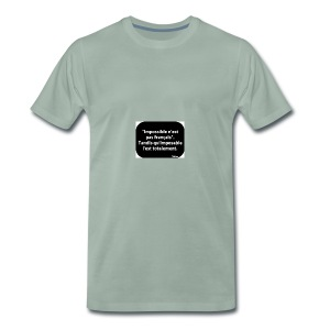 eab716c84d21fd4b5ccb1b3a1d15f727 - T-shirt Premium Homme