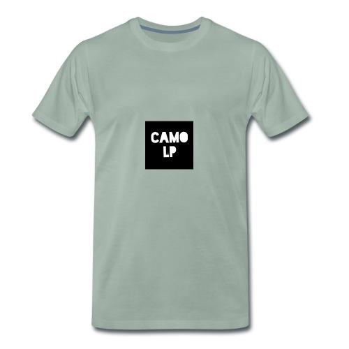 Camo lp logo - Männer Premium T-Shirt