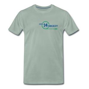 D14 HOCKEY LOGO - Men's Premium T-Shirt