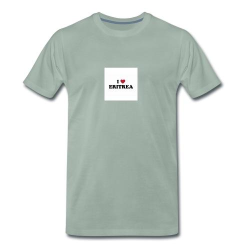 i love eritrea - Männer Premium T-Shirt
