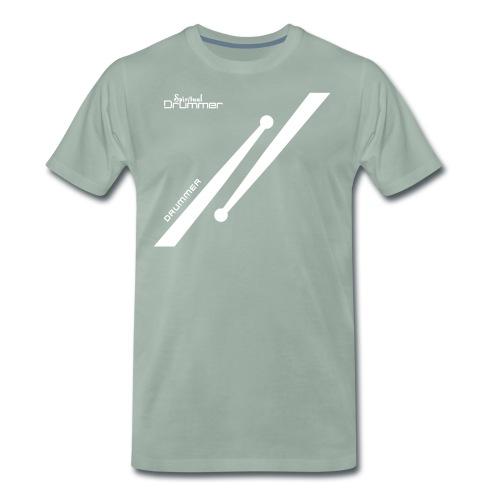 Drumstick Design Drummer - T-shirt Premium Homme