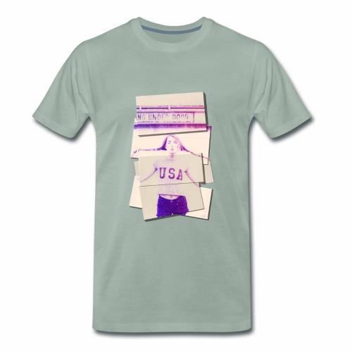 Girl usa - Men's Premium T-Shirt