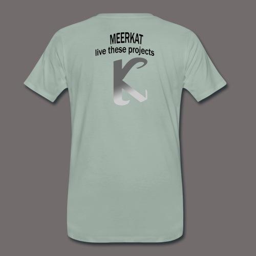 Première collection MEERKAT - logo et slogan - T-shirt Premium Homme