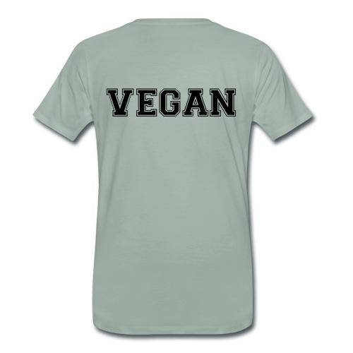 Vegan sports - Miesten premium t-paita
