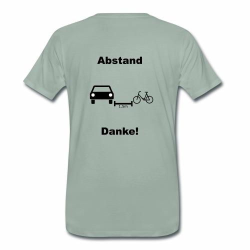 Danke für Abstand - Männer Premium T-Shirt
