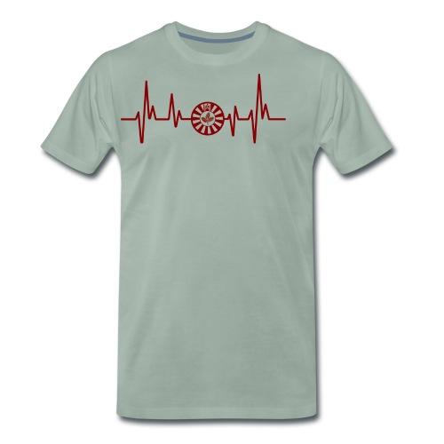 RT-Hearbeat - Männer Premium T-Shirt