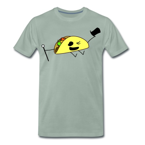 Fancy Taco - Premium-T-shirt herr