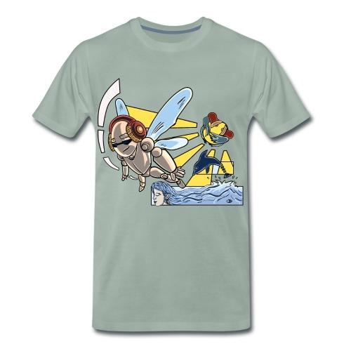 Sunshine buzz - Mannen Premium T-shirt