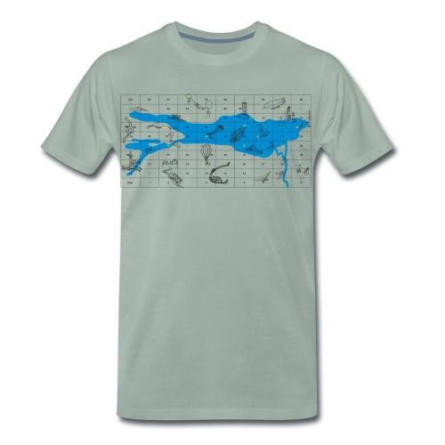 Bodensee Leiterlispiel - Männer Premium T-Shirt
