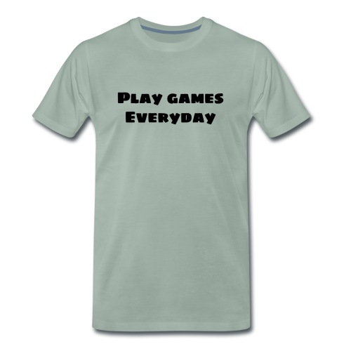 play games - Men's Premium T-Shirt