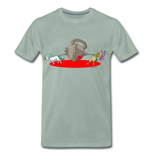 CFMD Halbkugel Comic Farbe - Männer Premium T-Shirt