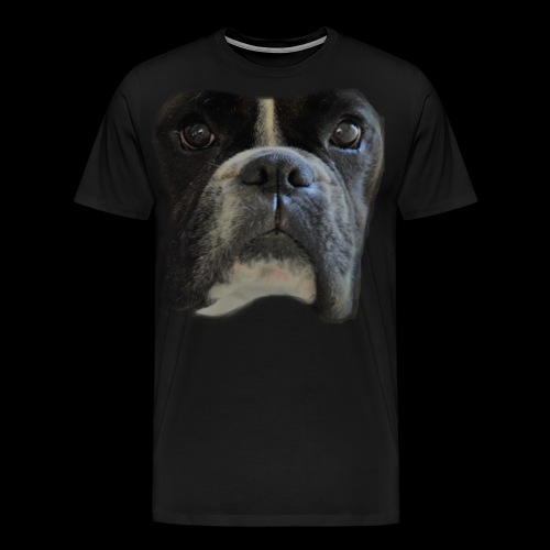 boxer big face - Men's Premium T-Shirt
