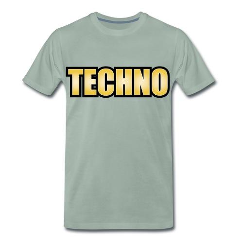 Techno T-Shirt Techno Goa Minimal Tanzen Geschenk - Männer Premium T-Shirt