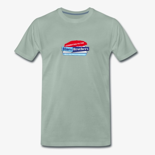 Official Committed to the Blues Logo - Men's Premium T-Shirt