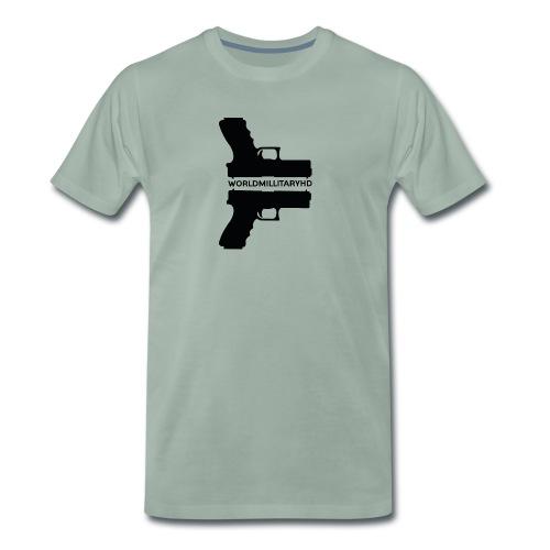 WorldMilitaryHD Glock design (black) - Mannen Premium T-shirt