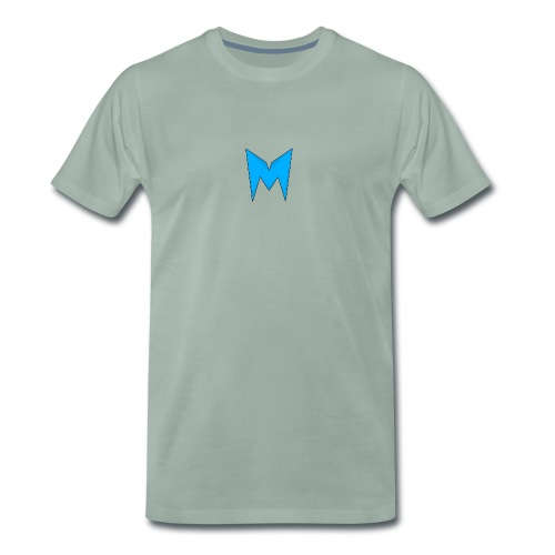 Tee-shirt Madcrow Noir & Logo Bleu - T-shirt Premium Homme