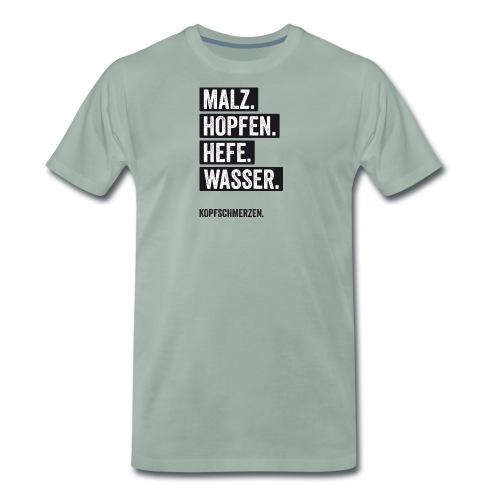 kopfschmerzen - Männer Premium T-Shirt